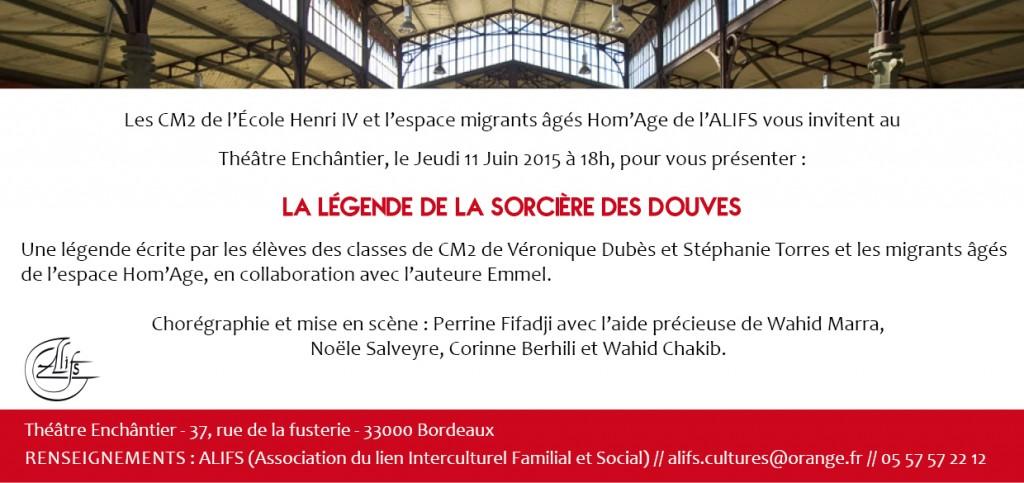 invitation Sorcière des Douves