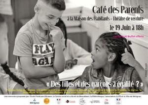 Affiche Café des parents
